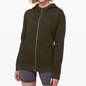 New LULULEMON All Yours Zip Hoodie Sweatshirt M